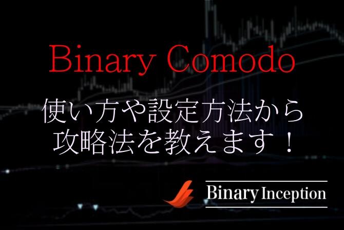 Binary Comodoインジケーターの使い方や設定方法からバイナリー攻略手法を解説!
